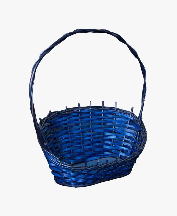 kosz prezentowy niebieski